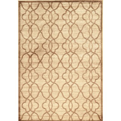 Belper Beige Area Rug Rug Size: Rectangle 5' x 7'6