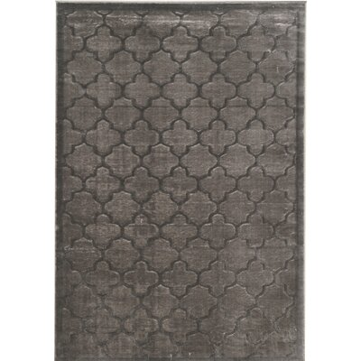 Belper Gray Area Rug Rug Size: Rectangle 5' x 7'6