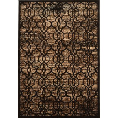 Beeston Brown/Beige Area Rug Rug Size: Rectangle 8 x 11