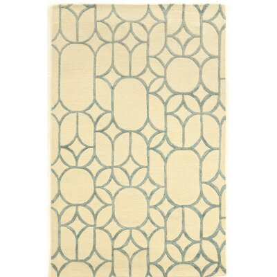 Cheshunt Hand-Tufted Beige Area Rug Rug Size: Rectangle 5 x 8