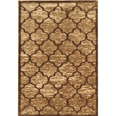 Belper Brown Area Rug Rug Size: Rectangle 5 x 76