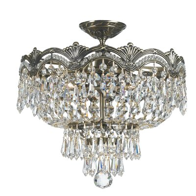 Rupelmonde 3-Light Semi Flush Mount