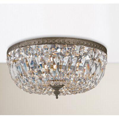 House of Hampton Coblenz 3-Light Flush Mount