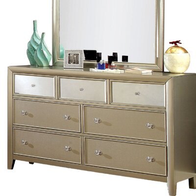 Amanda Mirrored Dresser