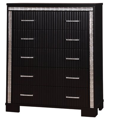 Viridian 5 Drawer Chest