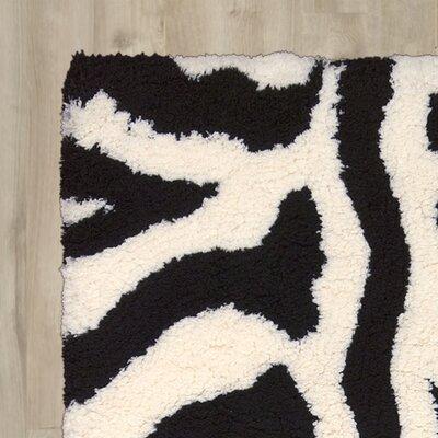 Hayons Ivory/Black Area Rug