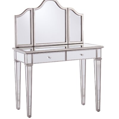 Kaila Vanity Set with Mirror