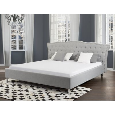 Chesterman Upholstered Platform Bed Size: King