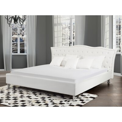 Chesterman Tufted Upholstered Platform Bed Size: Queen