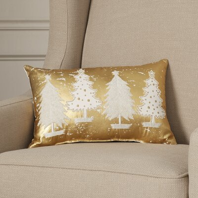 Dalton Multi Trees 100% Cotton Lumbar Pillow