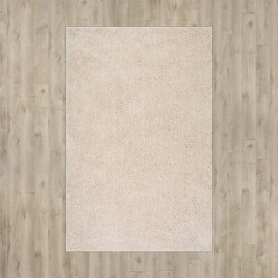 Cretien Hand-Tufted Natural Area Rug Rug Size: 5 x 8