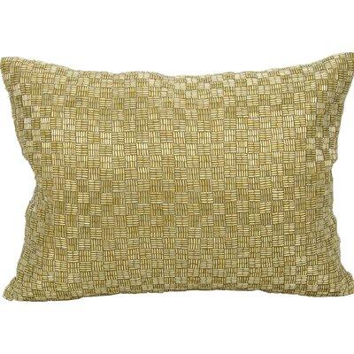 Gemstone Cotton Lumbar Pillow Color: Gold
