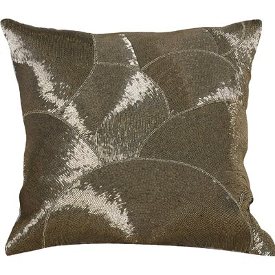 Sharonda 100% Cotton Throw Pillow Color: Seaweed