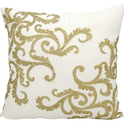 Hertzog Throw Pillow Color: Gold
