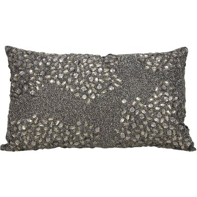 Hertzog Lumbar Pillow Size: 13 H x 18 W, Color: Pewter