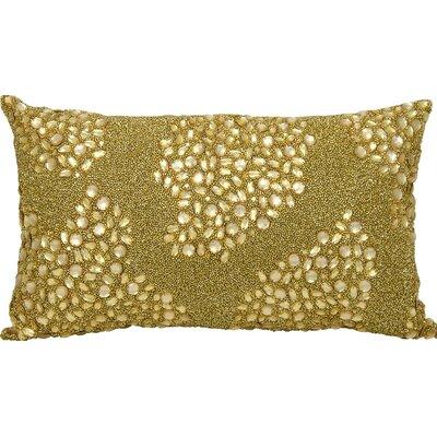 Hertzog Lumbar Pillow Size: 10 H x 14 W, Color: Gold