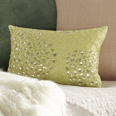 Hertzog Lumbar Pillow Size: 10 H x 14 W, Color: Celadon