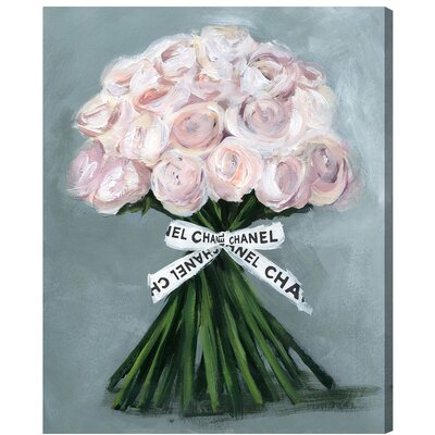 House of Hampton The Perfect Bouquet Painting Print on Wrapped Canvas