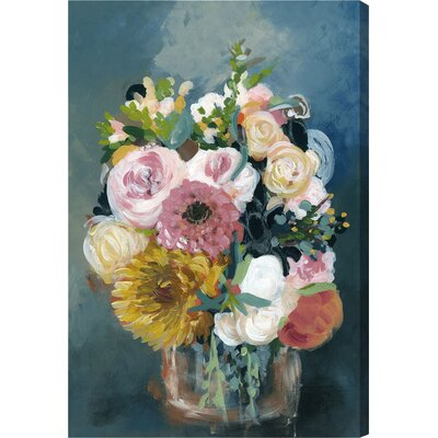 Spring Bouque Painting Print on Wrapped Canvas Size: 15