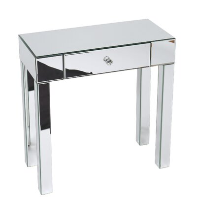 Fairburn Console Table Color: Silver Mirror