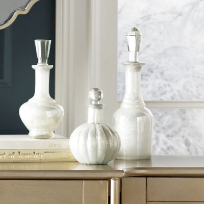 3 Piece Curran Decorative Bottle Set