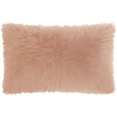 Yaritza Lumbar Pillow Color: Rose