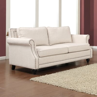 Bournemouth Loveseat Upholstery: Beige