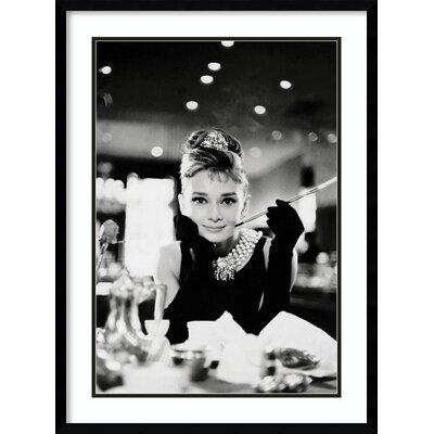 Audrey Hepburn Breakfast at Tiffany's Framed Memorabilia