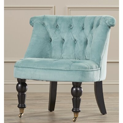 Bewdley Side Chair Upholstrey: Blue