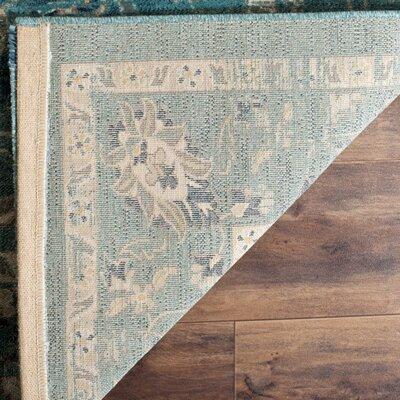 Herne Bay Turquoise/Beige Area Rug Rug Size: Square 67