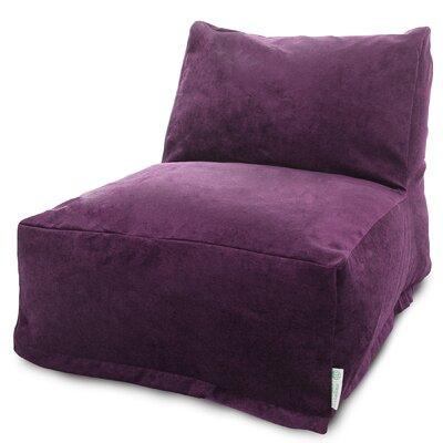 Bramma Bean Bag Lounger Upholstery: Aubergine