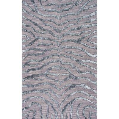 Worcester' Hand-Tufted Silver/Gray Area Rug Rug Size: 7'6
