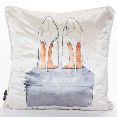 Burford Shoes Throw Pillow