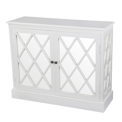 Florentine 2 Door Mirrored Accent Stand