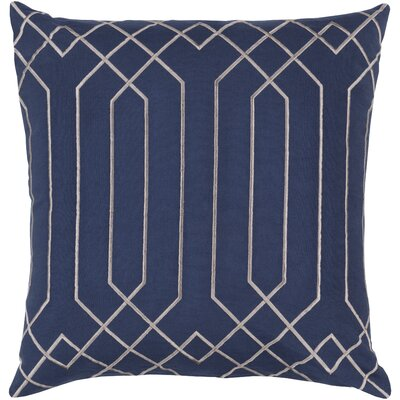 Selvage Linen Pillow Cover Size: 20 H x 20 W x 1 D, Color: BlueGray