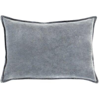 Trini Cotton Cotton Lumbar Pillow Color: Gray