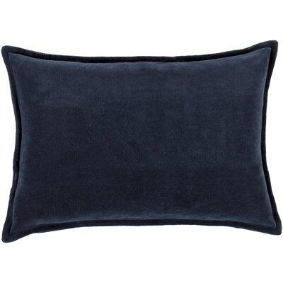 Trini Cotton Cotton Lumbar Pillow Color: Black