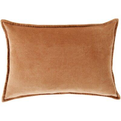 Jaycee Rectangular Cotton Lumbar Pillow Color: Orange