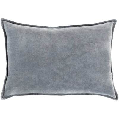 Carlisle Cotton Cotton Lumbar Pillow Color: Gray