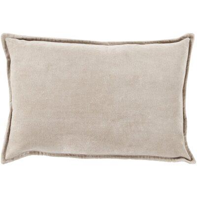 Jaycee Rectangular Cotton Lumbar Pillow Color: Brown