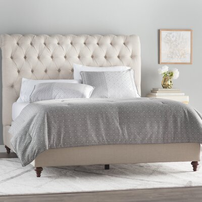 Hunstanton Upholstered Sleigh Bed Size: Queen