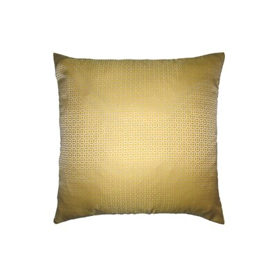 Bair Throw Pillow Color: Yellow