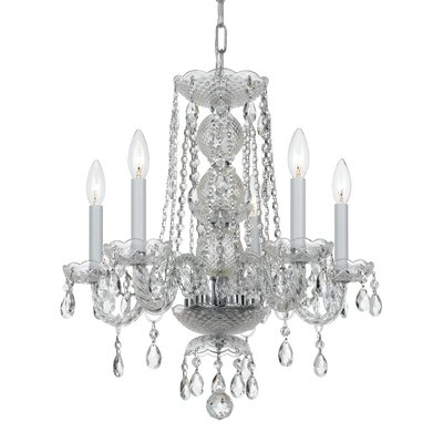 Magali 5-Light Crystal Chandelier