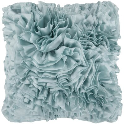 Clover Throw Pillow Color: Light Blue