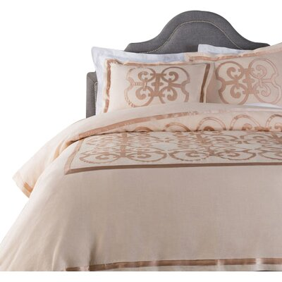 Shetler Duvet Set Size: King, Color: Pink