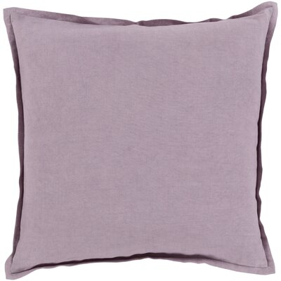 Strathmore Pillow Cover Size: 22 H x 22 W x 1 D, Color: Purple