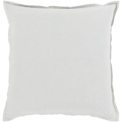 Strathmore Pillow Cover Size: 22 H x 22 W x 1 D, Color: Neutral