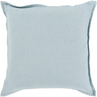 Windsor Throw Pillow Cover Size: 22 H x 22 W x 1 D, Color: Gray
