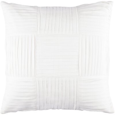 Holden 100% Cotton Throw Pillow Cover Color: Neutral, Size: 22 H x 22 W x 0.25 D