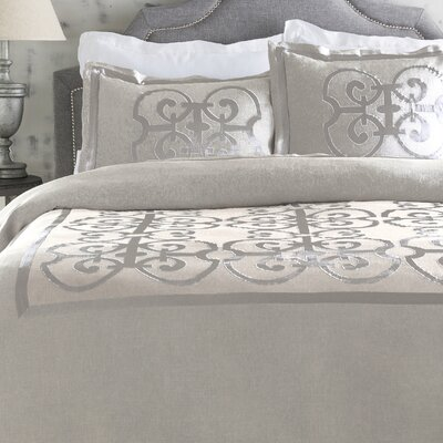 Shetler Glam Duvet Cover Size: King
